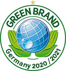 GREEN BRAND AWARD 2020/2021